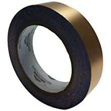 "Saint-Gobain Copper Foil Tape with Conductive Adhesive Backing, 0.0028"" Thick, 1/2"" Width, 18 Yard Roll"