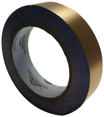 Saint-Gobain Copper Foil Tape with Conductive Adhesive Backing, 0.0028