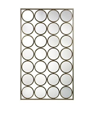 Artistic Lighting Retro Style Multi-Circle Wall Mirror, Gold