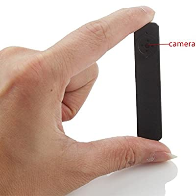 Aperfect 8GB HD Mini Portable Button Hidden Pinhole Camera Video Recorder Security DVR with Audio Function