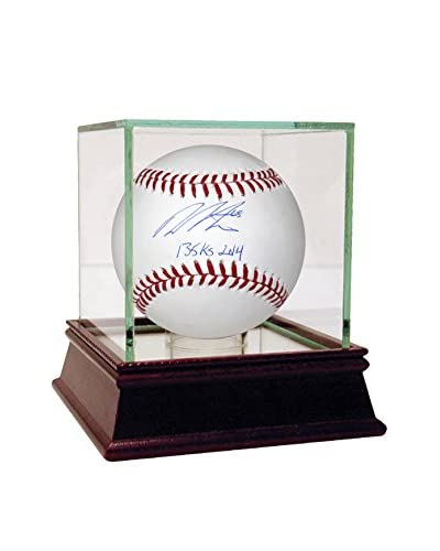 Steiner Sports Dellin Betances MLB Auth Signed Baseball with 135Ks 2014 Insc