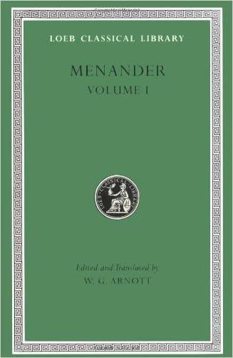 Menander, Volume 1