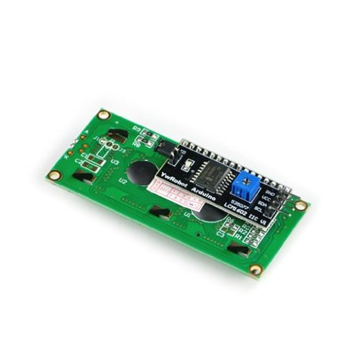 Iic/I2C/Twi 1602 Serial Lcd Module Display Blue Backlight For Arduino