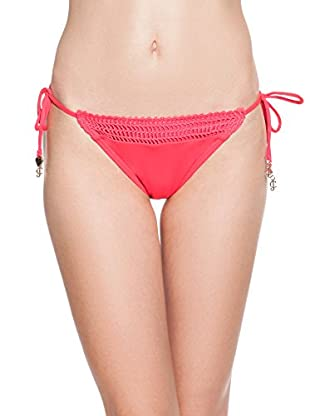 Juicy Couture Braguita de Bikini Solid Crochet (Fresa)
