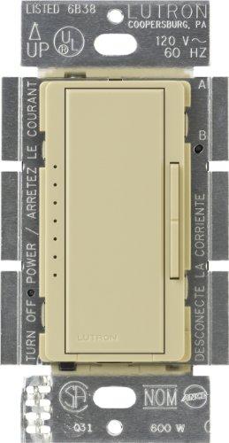 Almond Lutron MA-ALFQ35-AL Maestro Companion Fan and Light Control