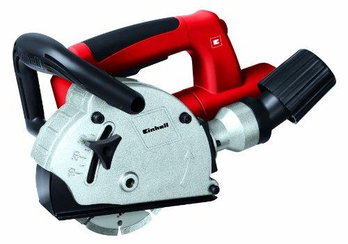 Einhell-Mauernutfrse-TH-MA-1300-1320-W-125-mm-Nutttiefe-30-mm-Nutbreite-26-mm-Softstart-Absaugadapter-2-Diamant-Trennscheiben-Koffer