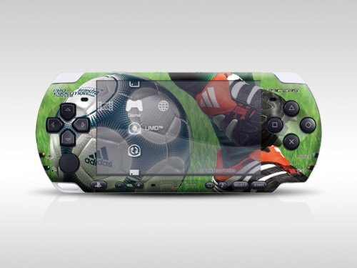 Victoria's Pro-evolution Soccer Decorative Protector Skin Decal Sticker For Psp-3000 Item No.0858-02