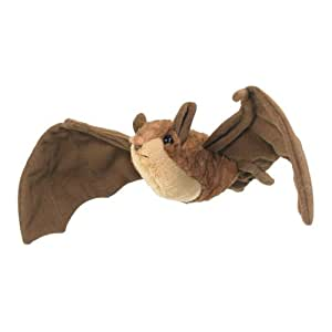 "Wildlife Artists 8"" Brown Bat Plush Stuffed Animal Toy"