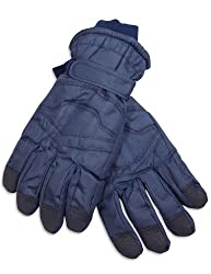 Winter Warm-Up - Mens Gloves, Navy Blue 28520-X-Large