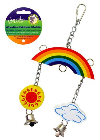 Nibble Stix & Woodies Woodies Rainbow Mobile