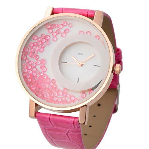Kitcone Analogue Movable Beads Designer Braclet Jwellery Fashion stylish Womens ,girls & Ladies Wrist watches ...