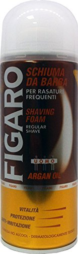 FIGARO Schiuma Barba Argan 400 Ml