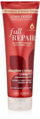 John Frieda Full Repair Strengthen And Restore Shampoo ,8.45 Fluid Ounce (Pack Of 2)