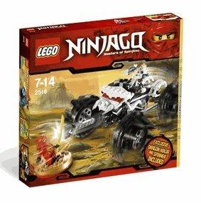 LEGO Ninjago Exclusive Limited Edition Set #2518 Nuckals ATV Includes Kai Dragon Ninja Mini Figure Spinner!