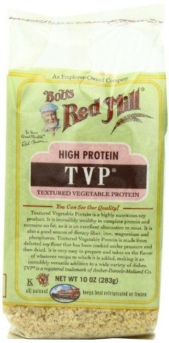 Bob's Red Mill TVP (Textured Vegetable Protein), 10-Ounce Bags (Pack of 4)