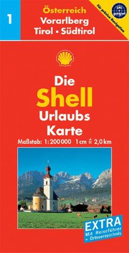 Shell Urlaubskarte Österreich 1. Vorarlberg,