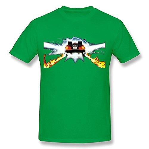 Men's Back To The Future T-shirt Black Medium