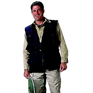 Black Deluxe Safari Outback Vest