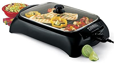 West Bend 6111 Heart Smart Indoor Grill, Black from West Bend