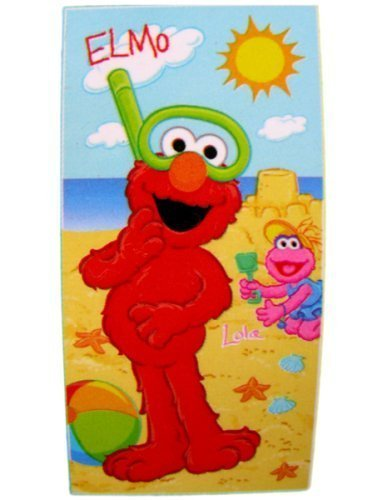 Sesame Street Towel - Elmo Wearing Goggle