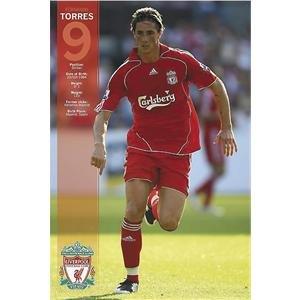 Liverpool Fernando Torres Poster 07/08
