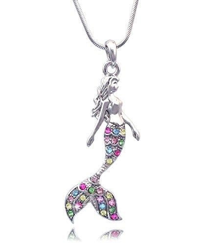 Fairytale-Mermaid-Pendant-Necklace-Jewelry