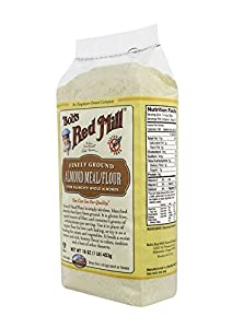 Bob's Red Mill Almond Meal/Flour, 16-Ounce (Pack of 4)