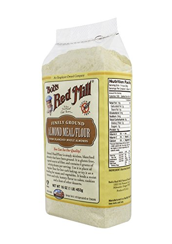 Bob's Red Mill Almond Meal/Flour, 16-oz. Packages (Count of 4)