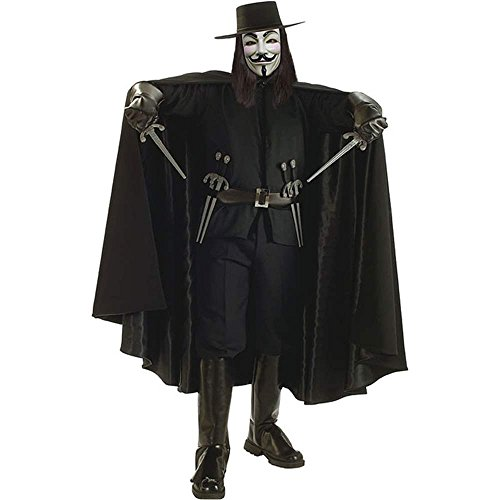 V for Vendetta Adult Deluxe Cape