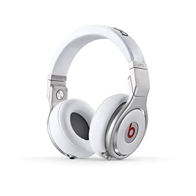 Brand New! Beats Pro Over Ear Headphones (Color: White/Silver)