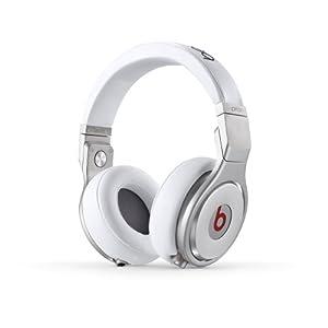 Beats by Dr.Dre Pro 密閉型プロフェッショナルヘッドホン ホワイト BT OV PRO WHT