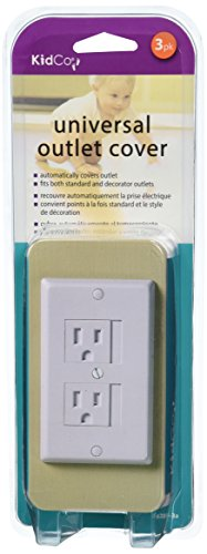 KidCo Universal Outlet Cover 6 Pack - White - 1