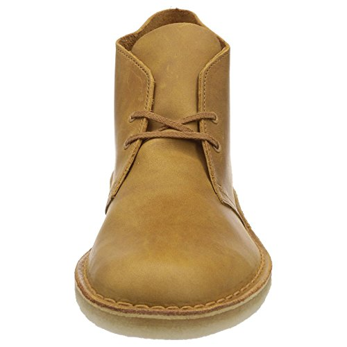 pictures of Clarks Original Desert Boot Mustard Mens Shoes 10 UK