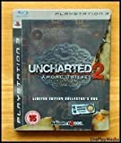 Uncharted 2 : among thieves limited edition collectors box steel tin version ps3 playstation 3
