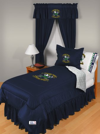 Notre Dame Fighting Irish Bedskirt - Queen Bed front-982979