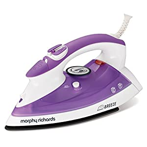 Morphy Richards Breeze 40423 Steam Iron Ceramic Soleplate - Purple