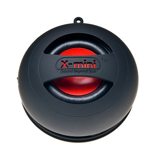 X-Mini Ii Xam4-B Portable Capsule Speaker, Mono, Black