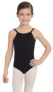 Capezio Girl's Camisole Comfort Dance Leotard NAVY I