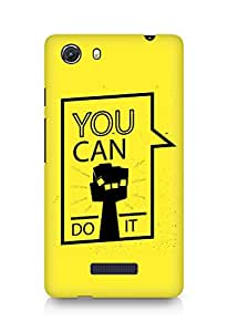 Amez You can Do It! Back Cover For Micromax Unite 3