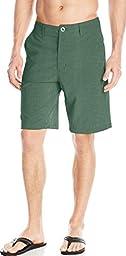 Volcom Men\'s Frickin Static Hybrid Short, Expedition Green, 30
