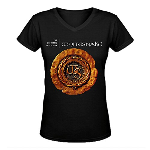 Whitesnake The Definitive Collection Ultimate Women V-Neck ...