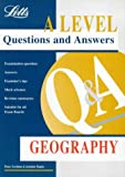 img - for A-level Questions and Answers Geography ('A' Level Questions and Answers Series) book / textbook / text book