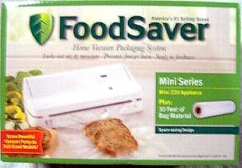 Foodsaver Mini 220 Home Vacuum Packaging System (Foodsaver Vacuum Bags Pint Size compare prices)