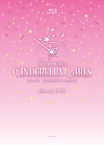 THE IDOLM@STER CINDERELLA GIRLS 1stLIVE WONDERFUL M@GIC!! 【Blu-ray3枚組 BOX 完全初回限定生産 豪華メモリアル仕様 オリジナルカートンケース付き】