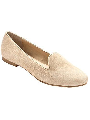 Balsamik - Mocassini slippers in pelle scamosciata - - Size : 40 - Colour : Beige