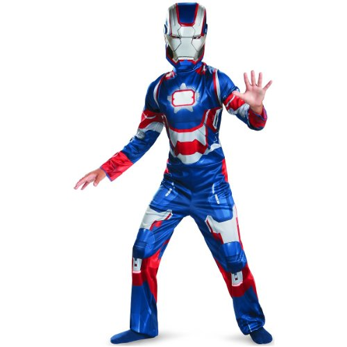 Marvel Comics - Boy's Costume: Iron Patriot Classic- Small