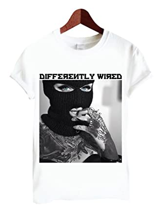 Differently Wired 01 FACE White TShirt Only £4.90 (Small)