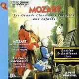 echange, troc  - Mozart raconté aux enfants - La Flûte enchantée - Bastien, Bastienne