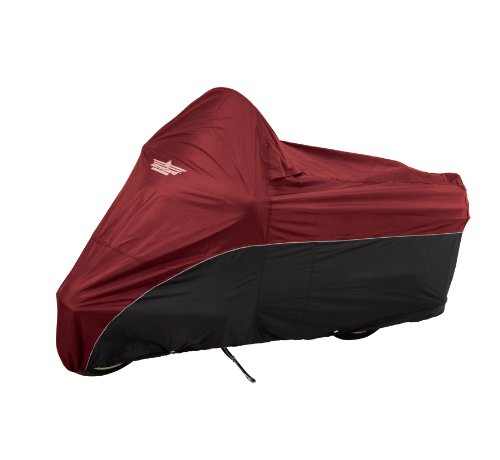 UltraGard 4-472AB Cranberry/Black Dresser Motorcycle Cover (Harley Ultra Classic Cover compare prices)