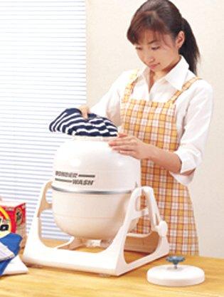 電気不要! 省エネ小型圧力洗濯機 ワンダーウォッシュ